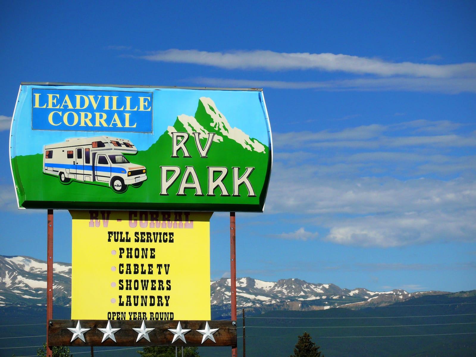 Leadville Corral RV Park