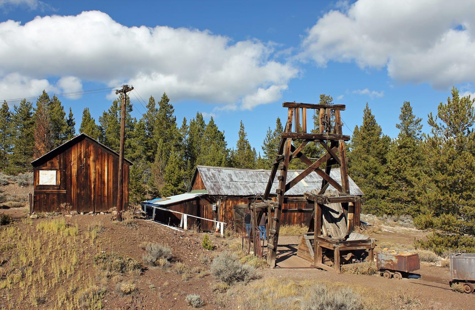 Matchless Mine Leadville Colorado