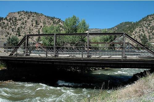 Miner Street Bridge Idaho Springs CO