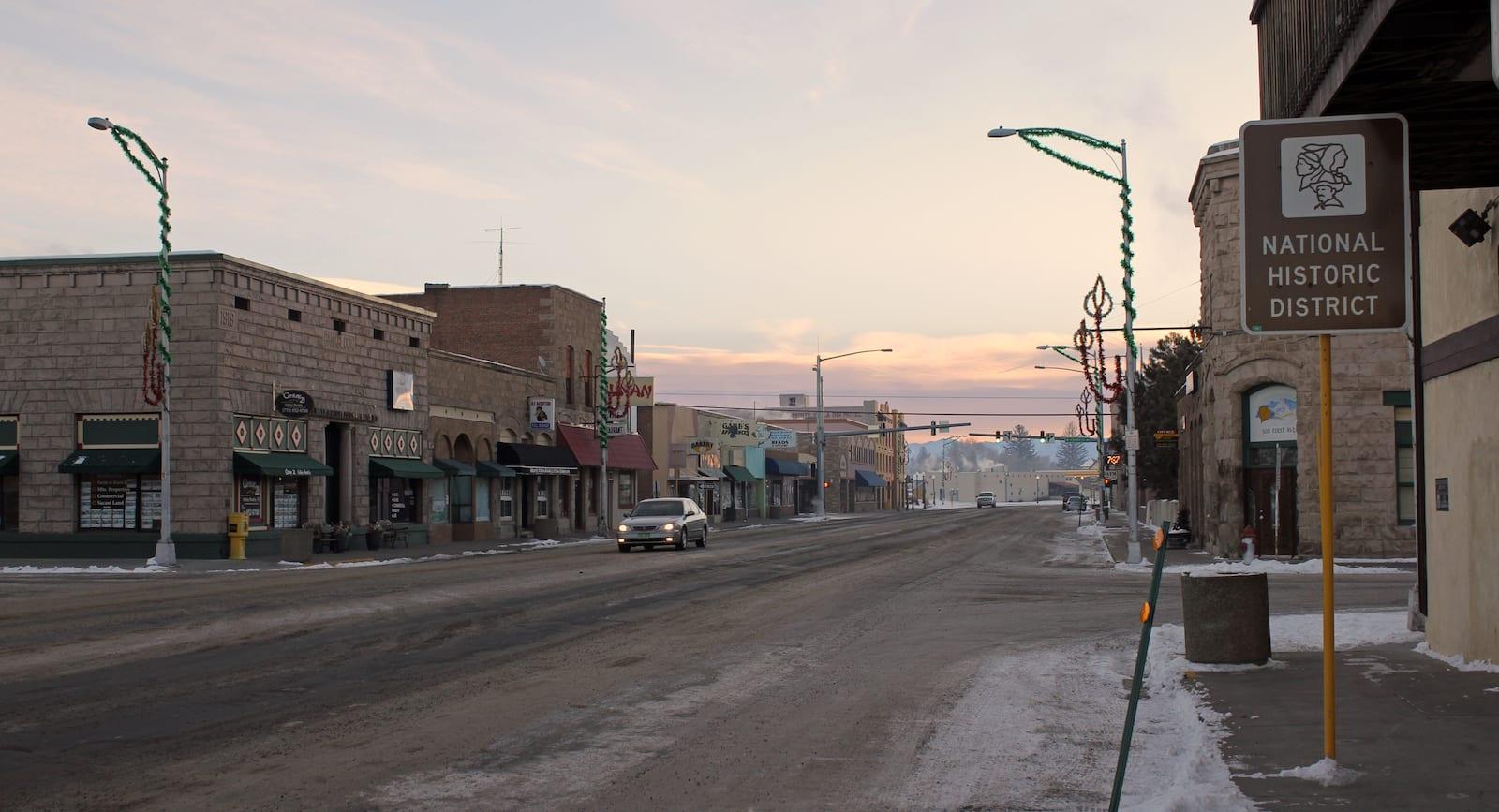 Monte Vista CO Downtown Historic District