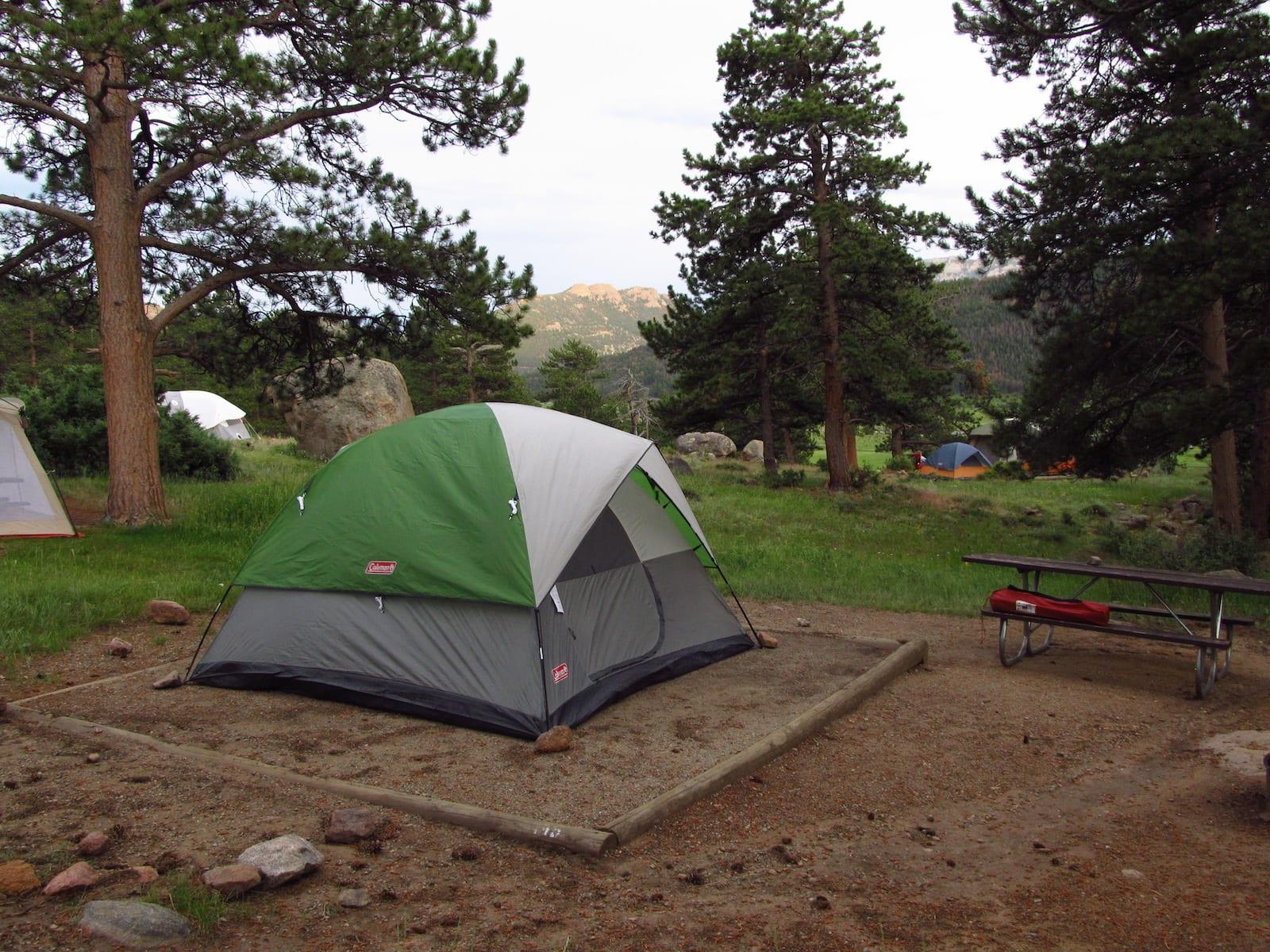 Moraine Park Campground Site 145 Rocky Mountain National Park Estes Park CO