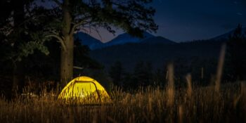 Moraine Park Campground RMNP Estes Park Campsite 1