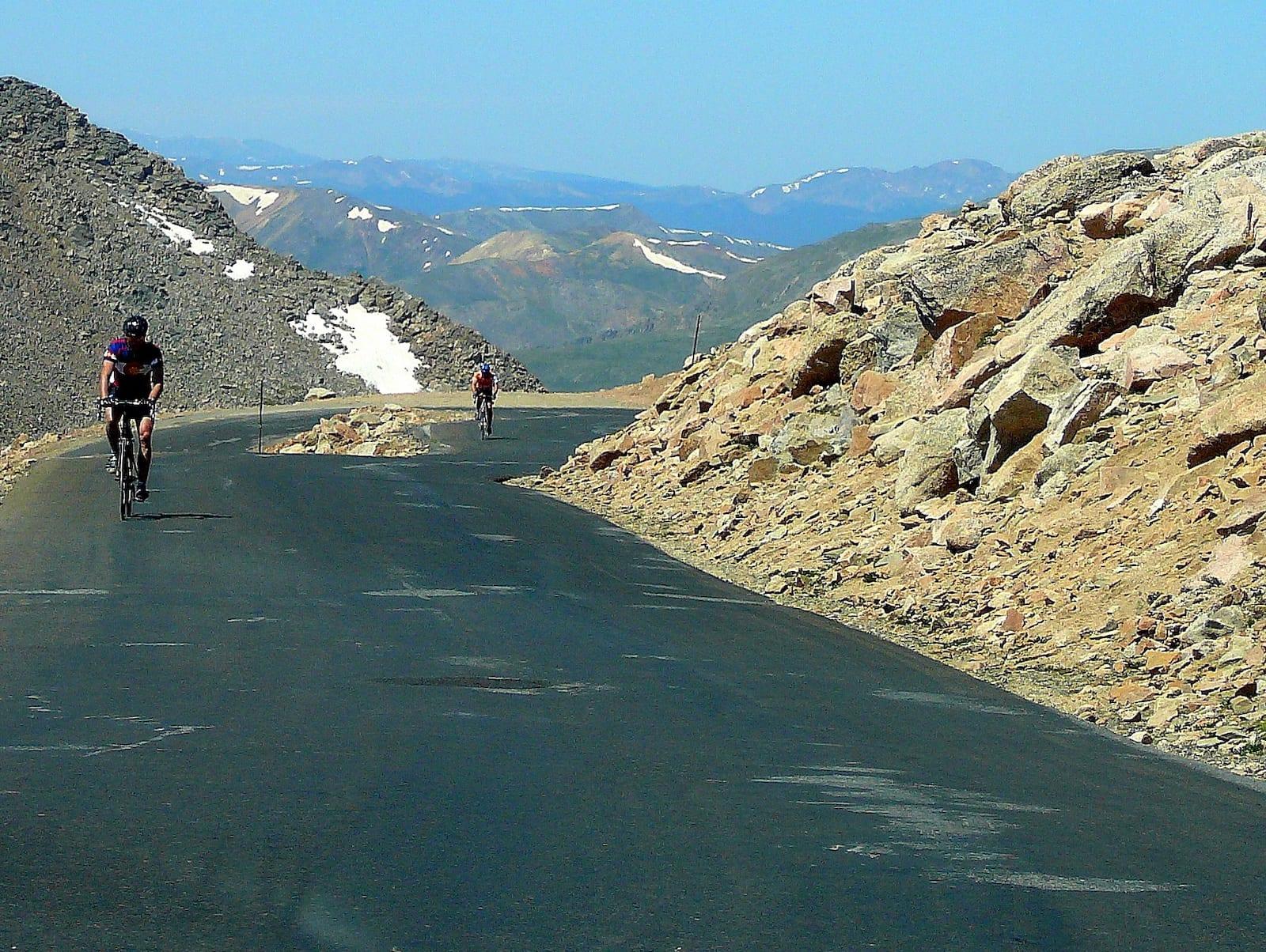 Mt Evans Byway Biking
