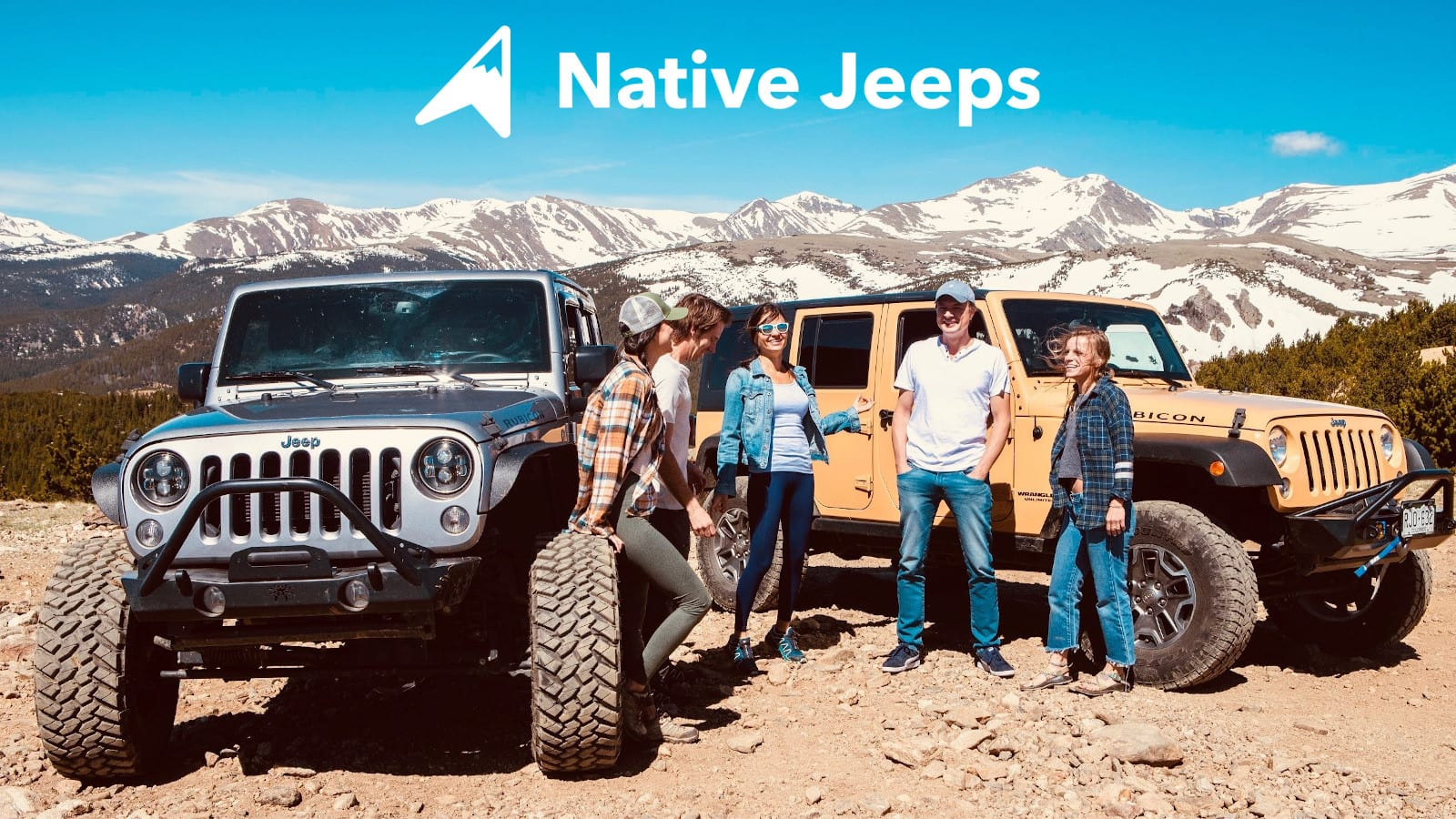 Native Jeeps Colorado Jeep Tour Group of People