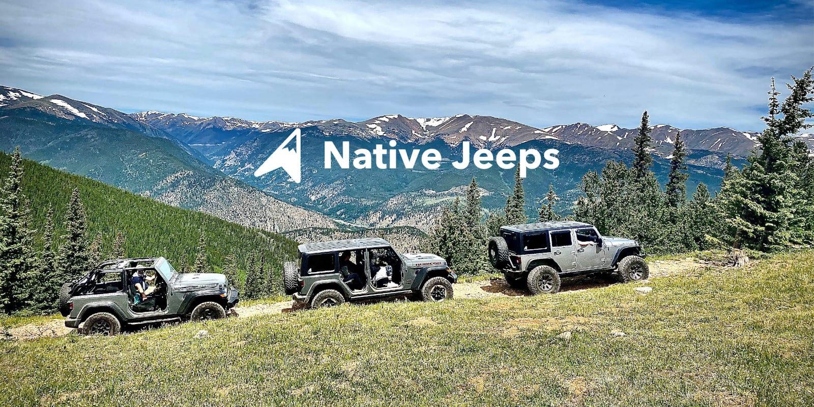 Native Jeeps Saxon Jeep Tour