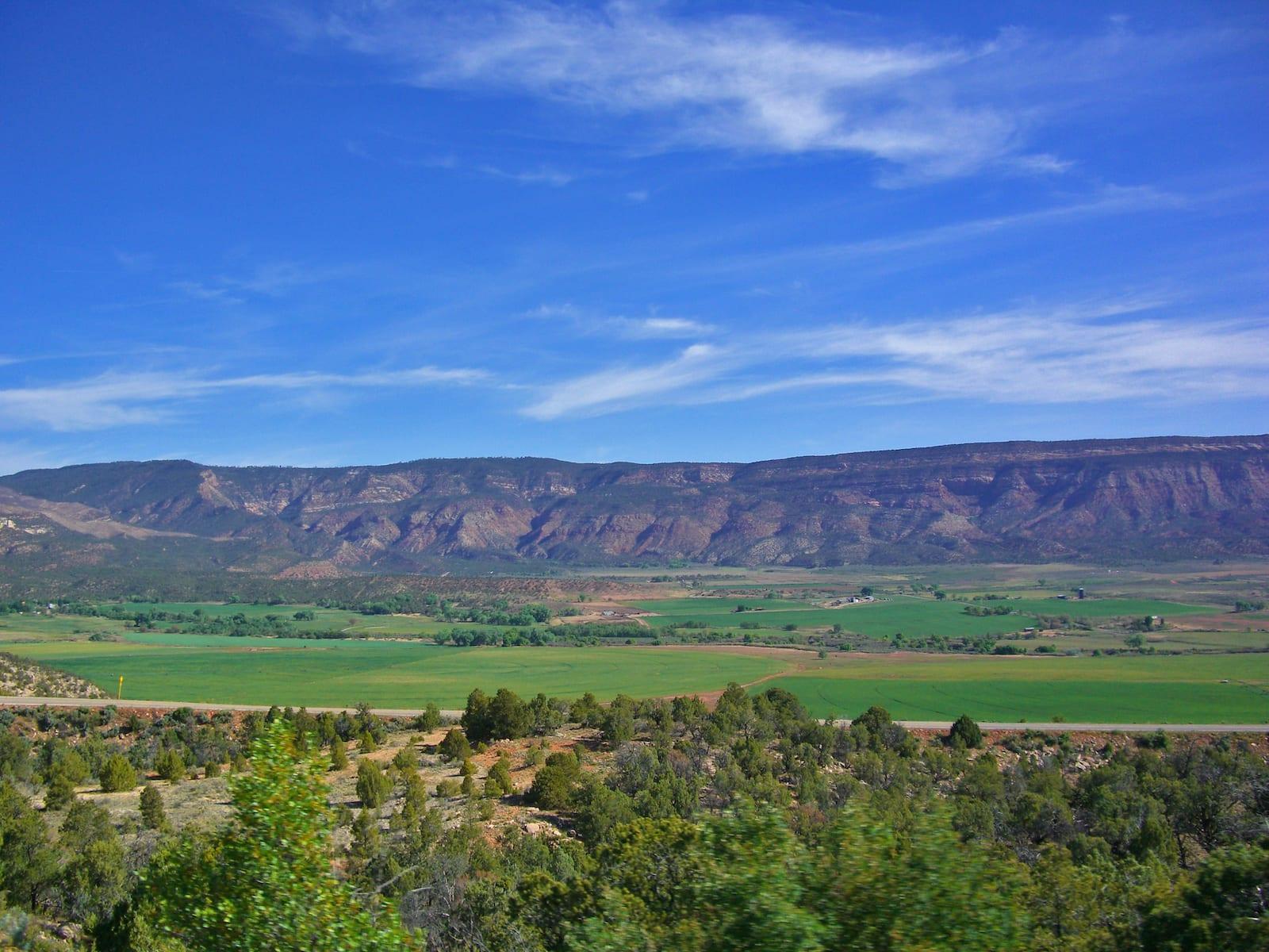 Naturita Colorado Landscape