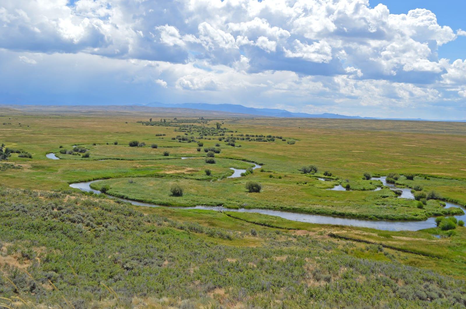North Park Colorado Illinois River Arapaho National Wildlife Refuge