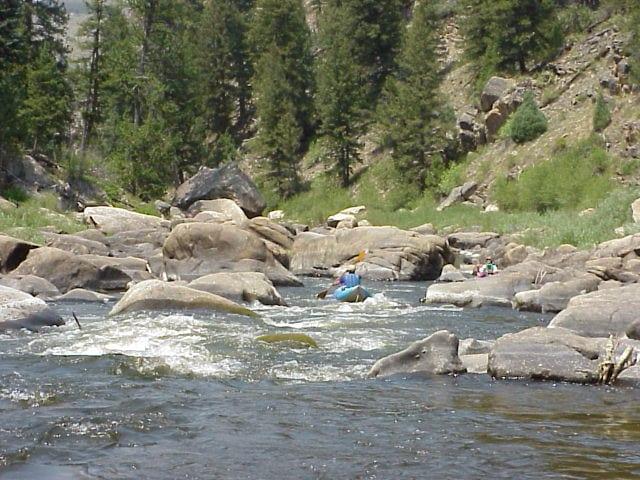 North Platte River Northgate Canyon Colorado