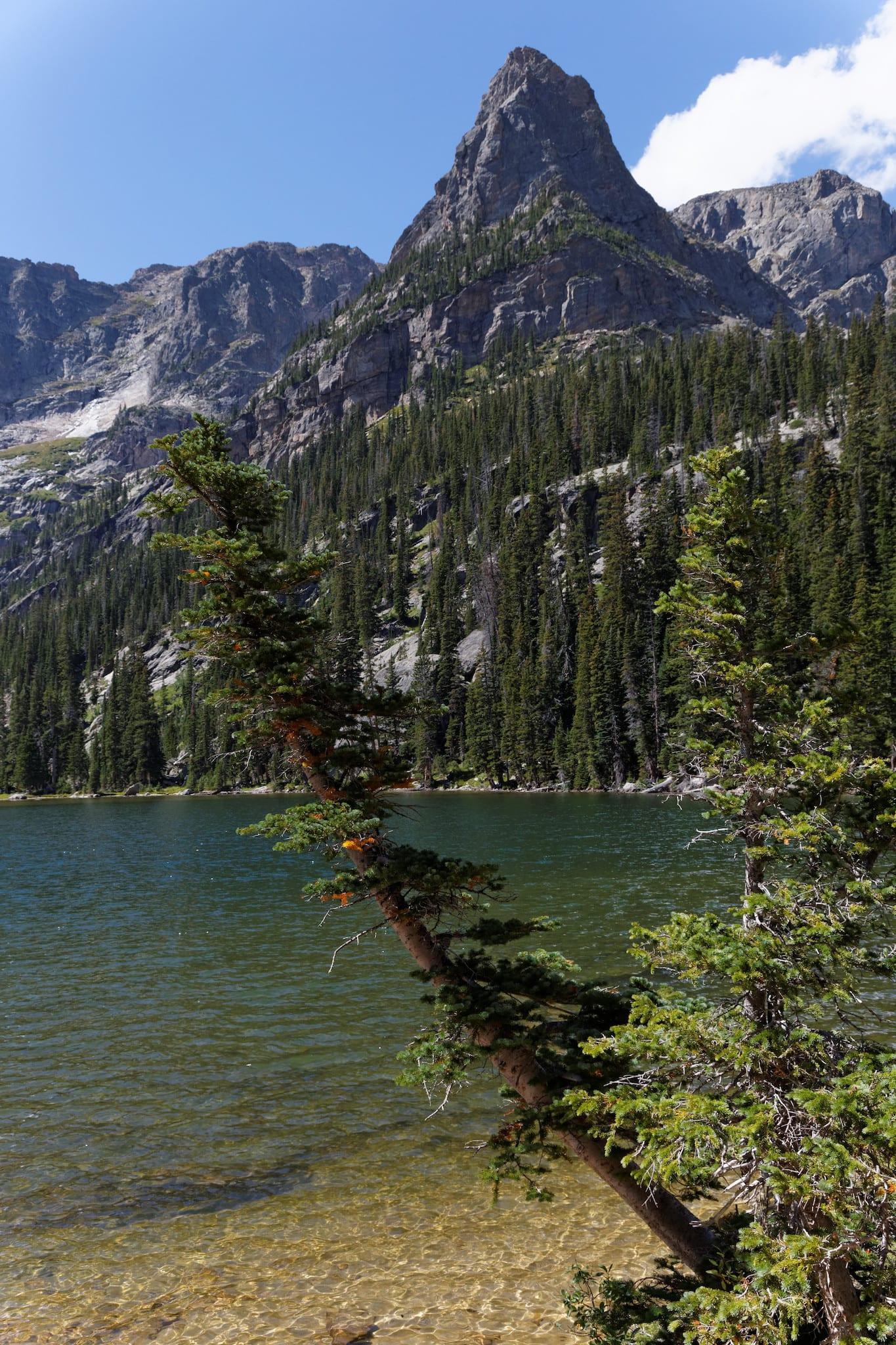 Odessa Lake RMNP Estes Park CO Little Matterhorn Peak