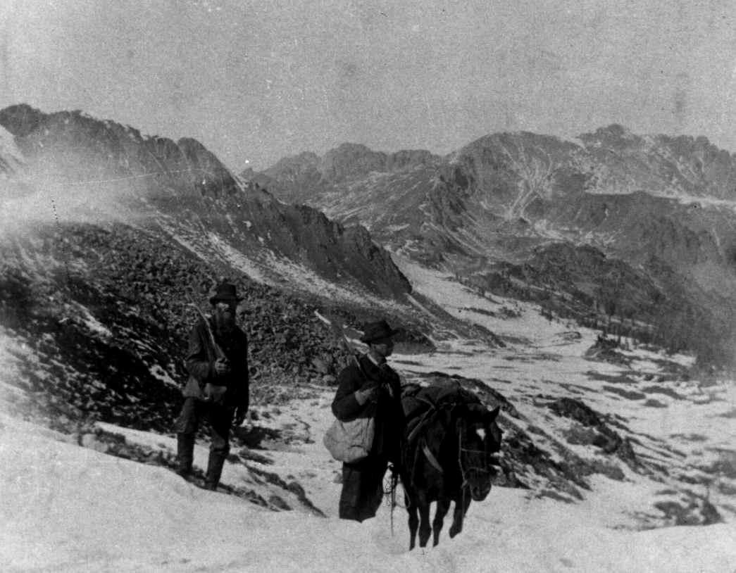 Pikes Peak Mining Prospectors Colorado Circa 1858