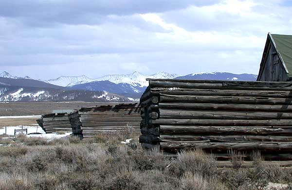 Rand CO Old Log Structure