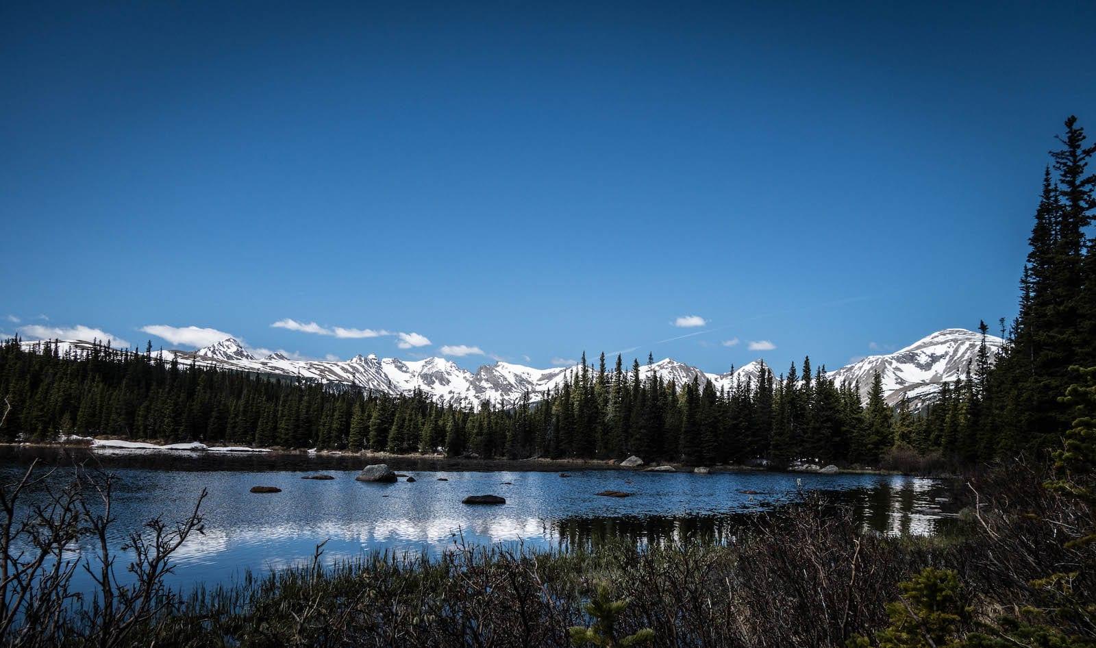 Red Rock Lake Brainard Lake Recreation Area Indian Peaks