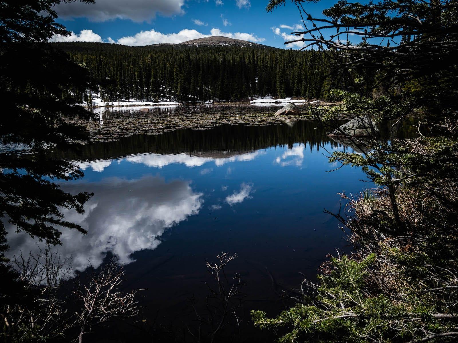 Red Rock Lake Brainard Lake Recreation Area