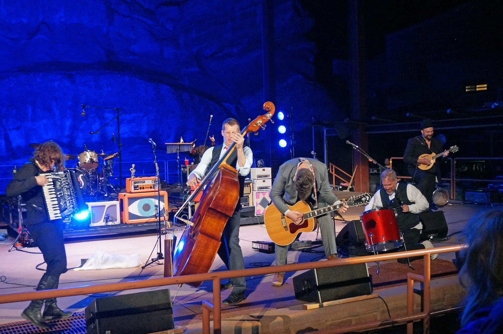 Red Rocks Amphitheater The Decemberists Perform May 2015