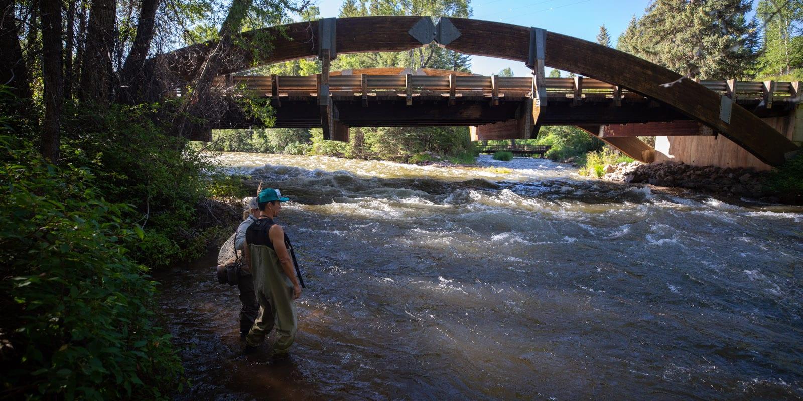 Roaring Fork River Aspen CO