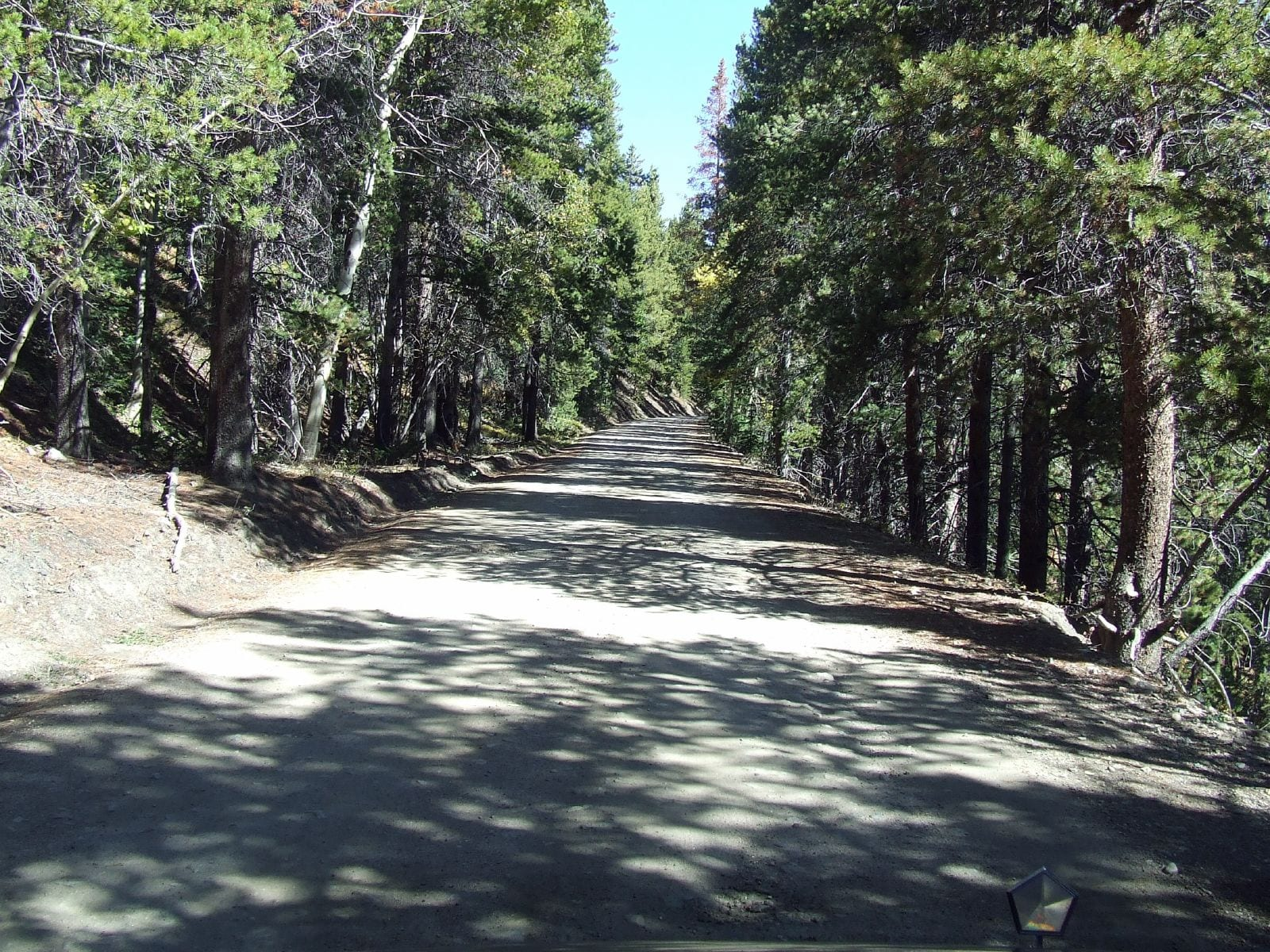 Rollins Pass Railroad Bed Colorado