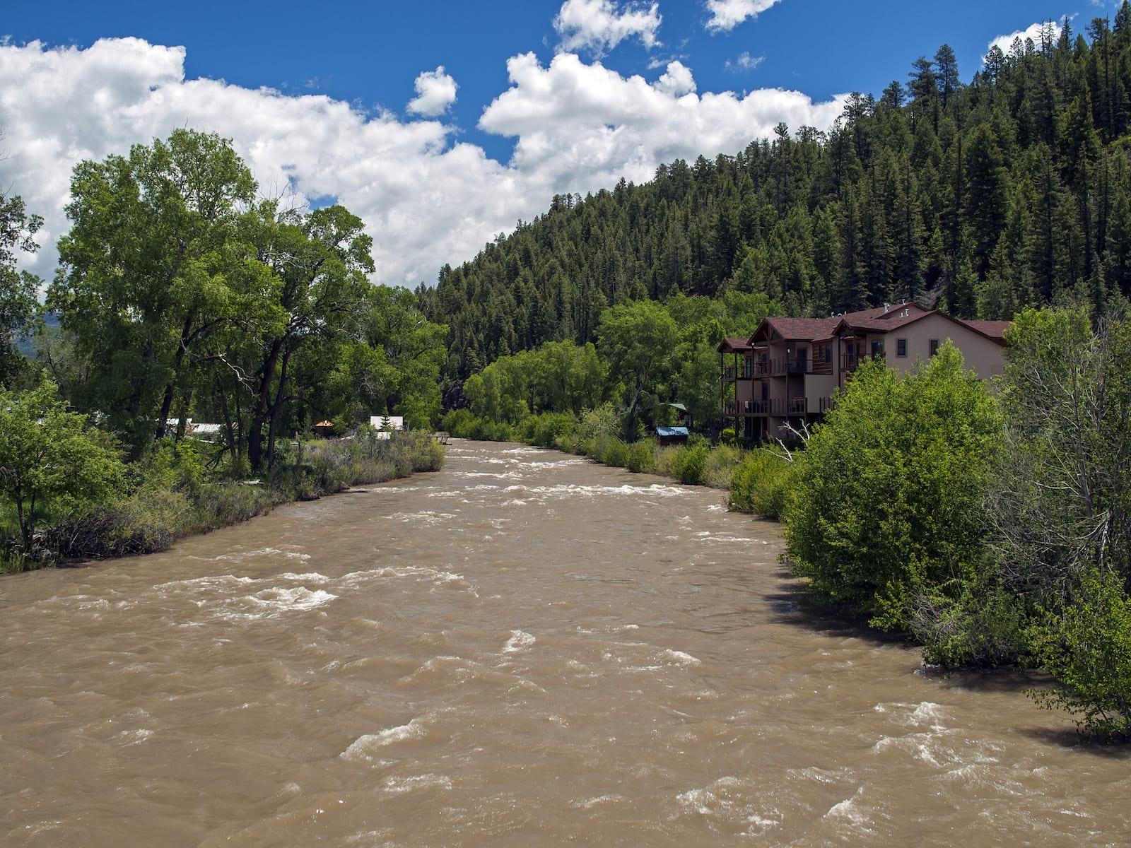 San Juan River June Pagosa Springs CO