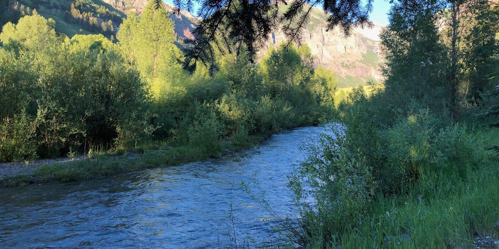 San Miguel River Telluride CO