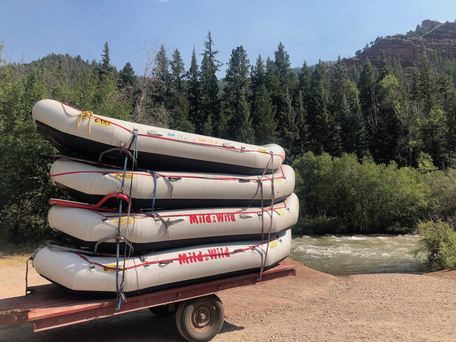 San Miguel River Whitewater Rafting Telluride CO
