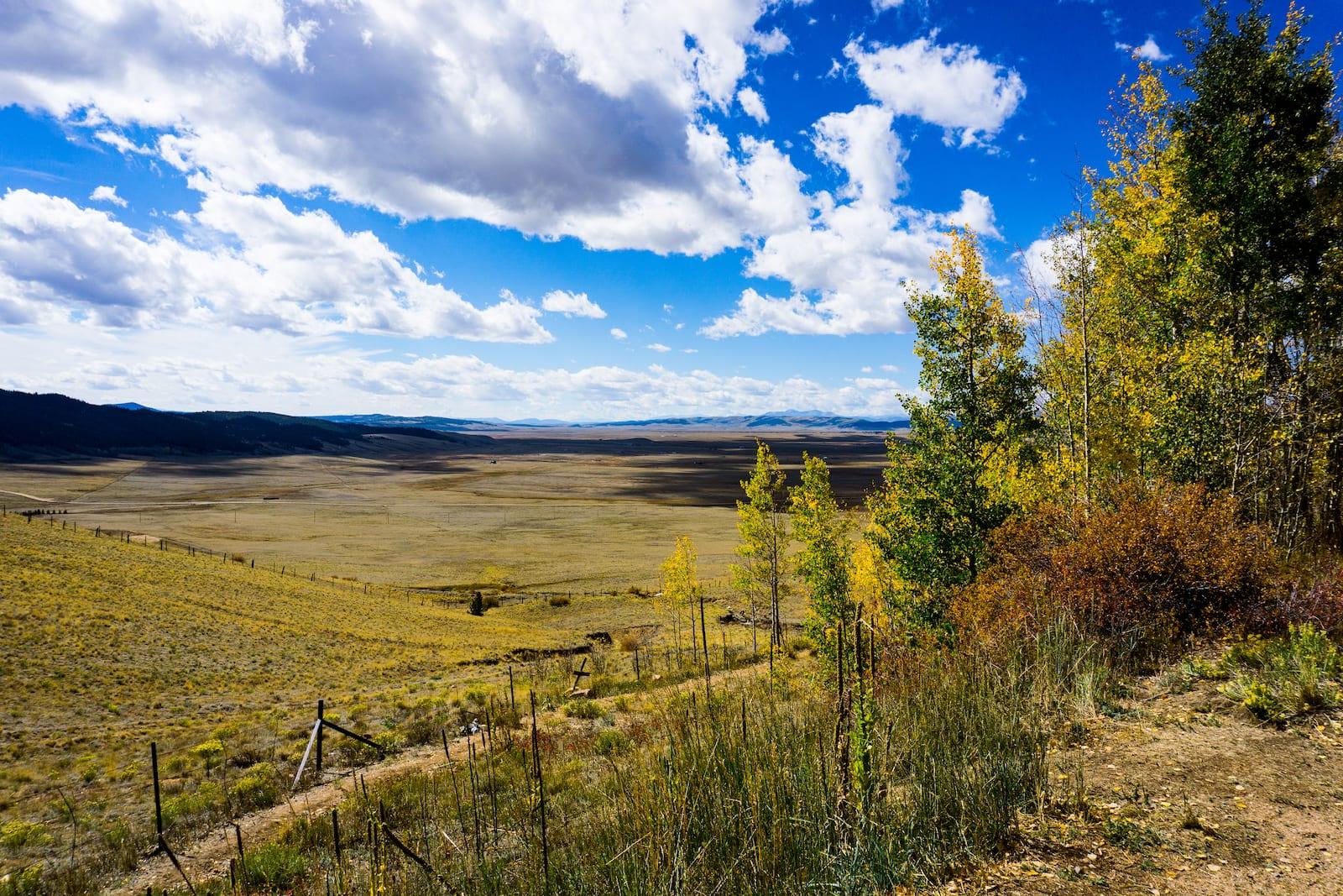 South Park Colorado Basin from Kenosha Pass