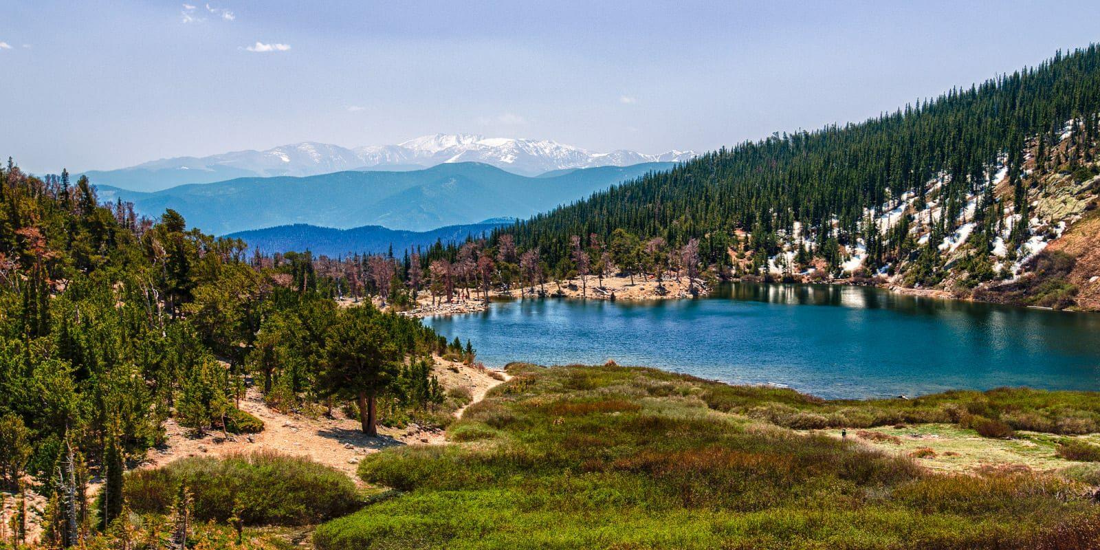 St Mary's Lake near Idaho Springs CO
