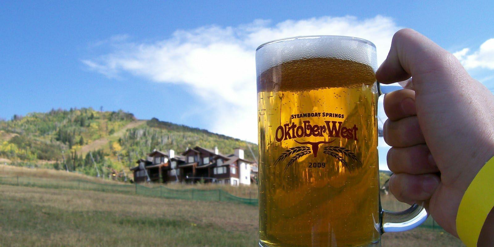 Steamboat OktoberWest Beer Cheers