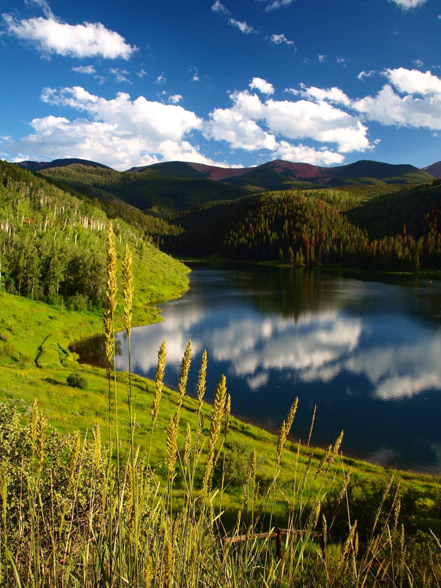 Sylvan Lake Colorado Summer