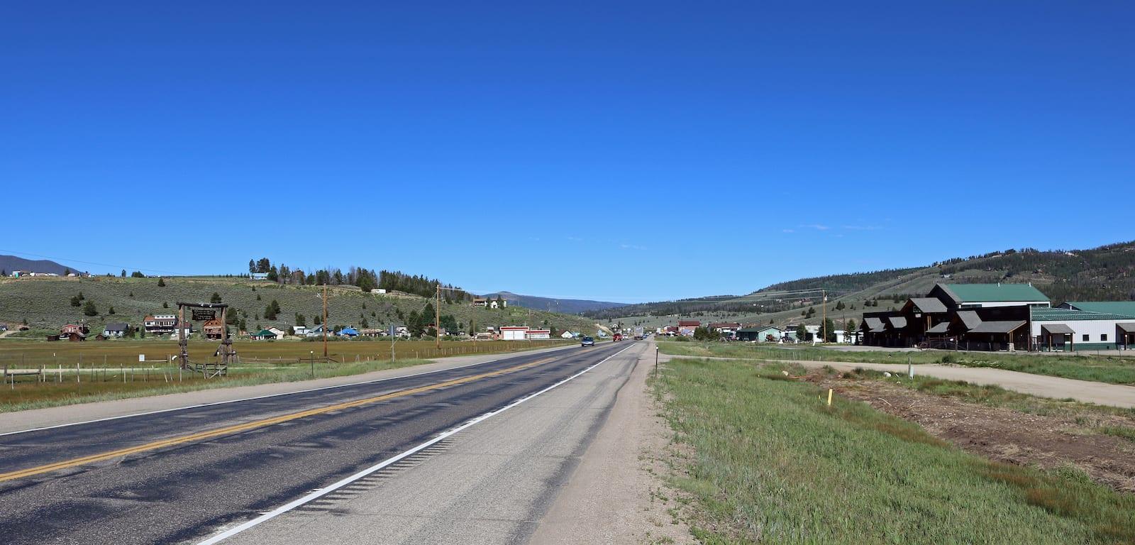 Highway 40 Tabernash CO