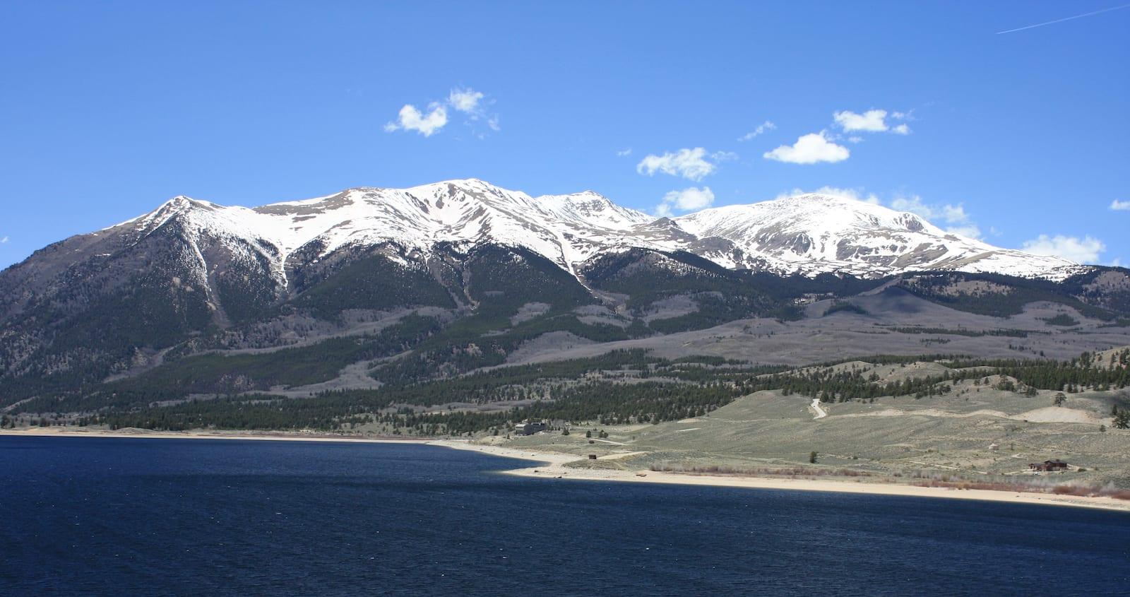 Twin Lakes CO Mount Elbert