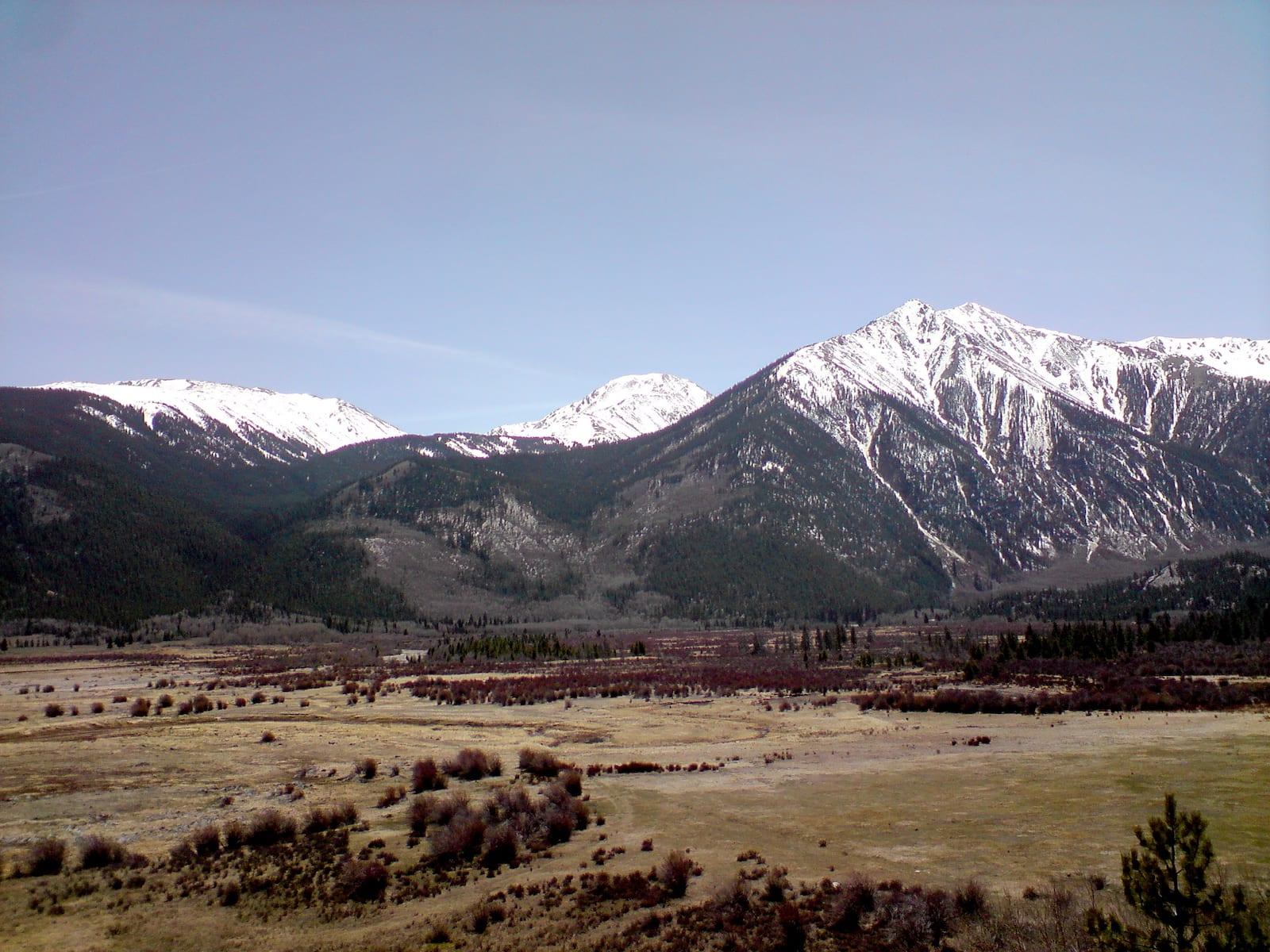 Twin Lakes, Colorado Mountains