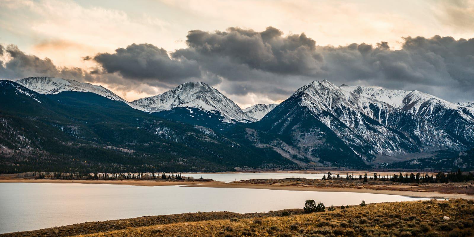 Twin Lakes Reservoir Colorado