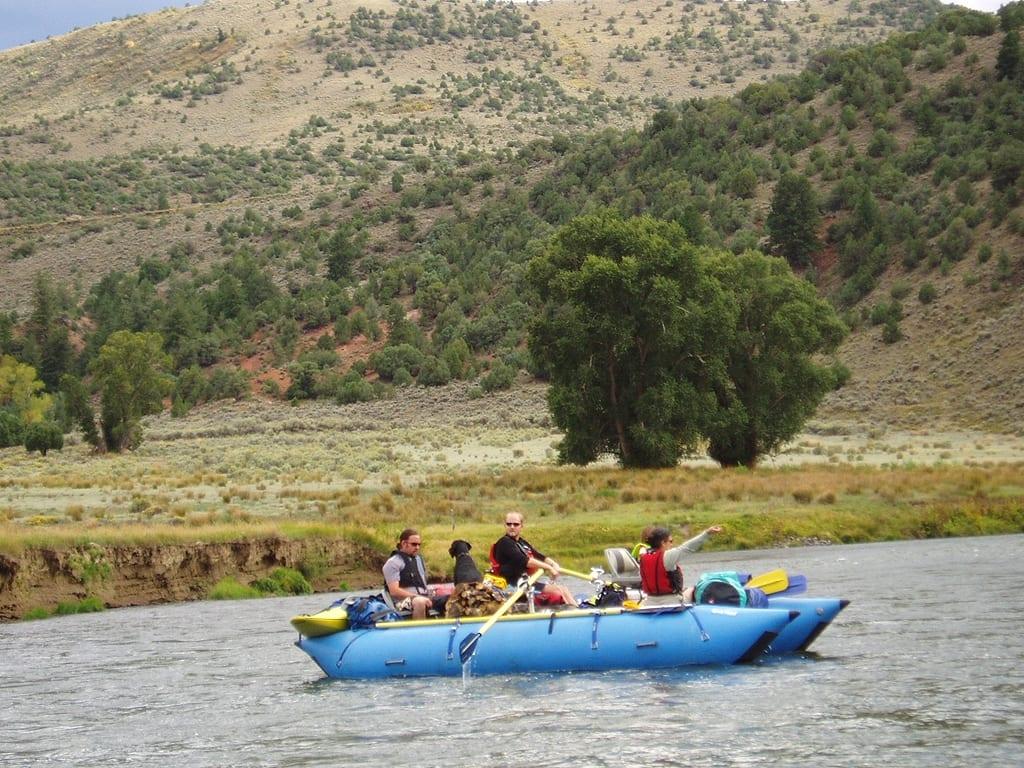 Upper Colorado River Raft Grand County CO