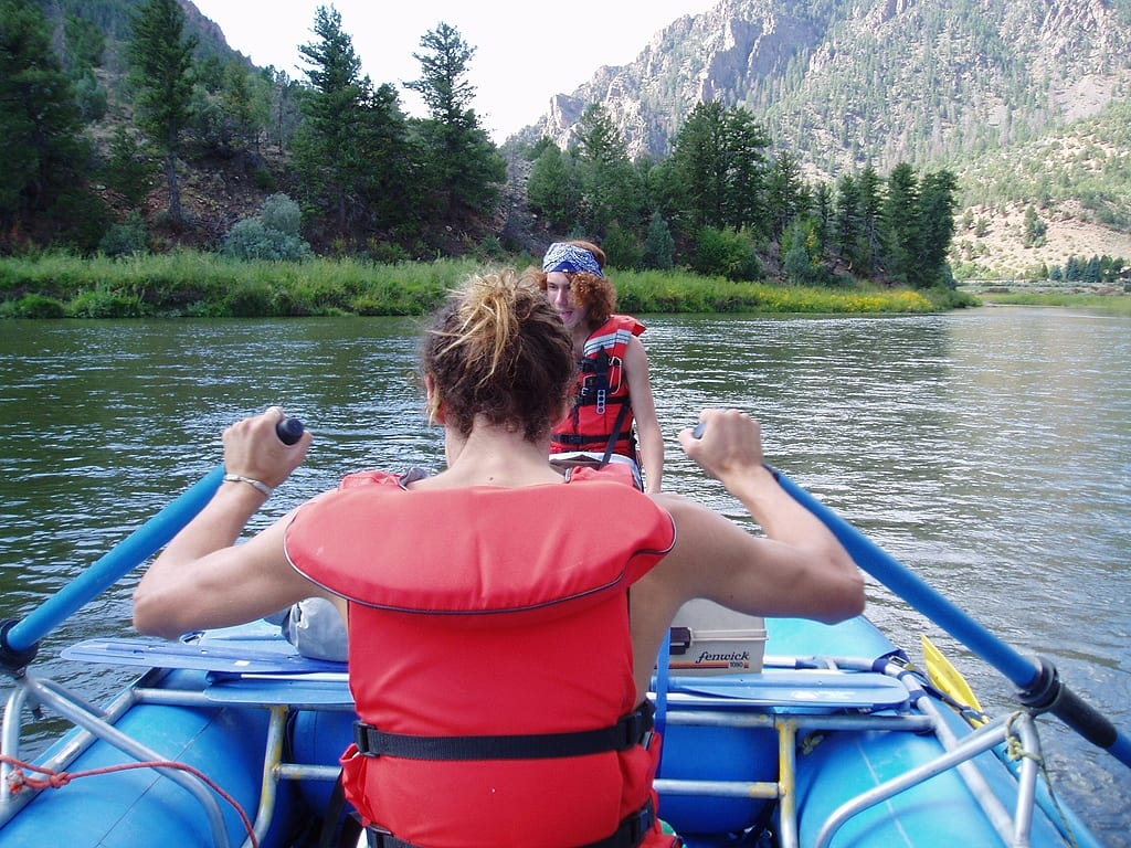 Upper Colorado River Rafting near Kremmling CO