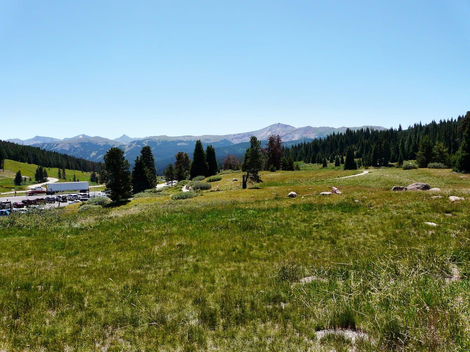Vail Pass Summit Colorado Summer