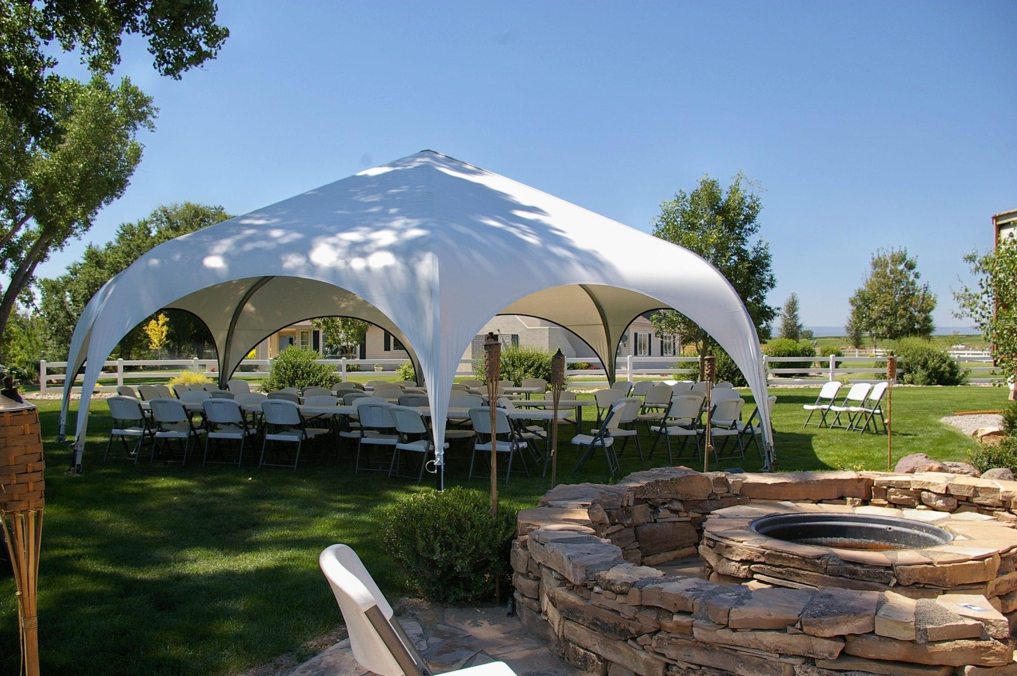 Weatherport Hexapae Tent 30'