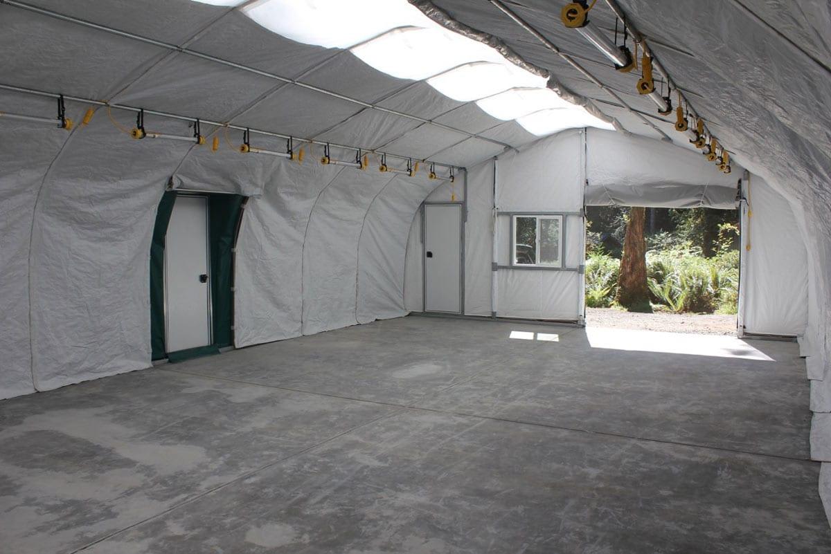Weatherport Vehicle Storage Facility