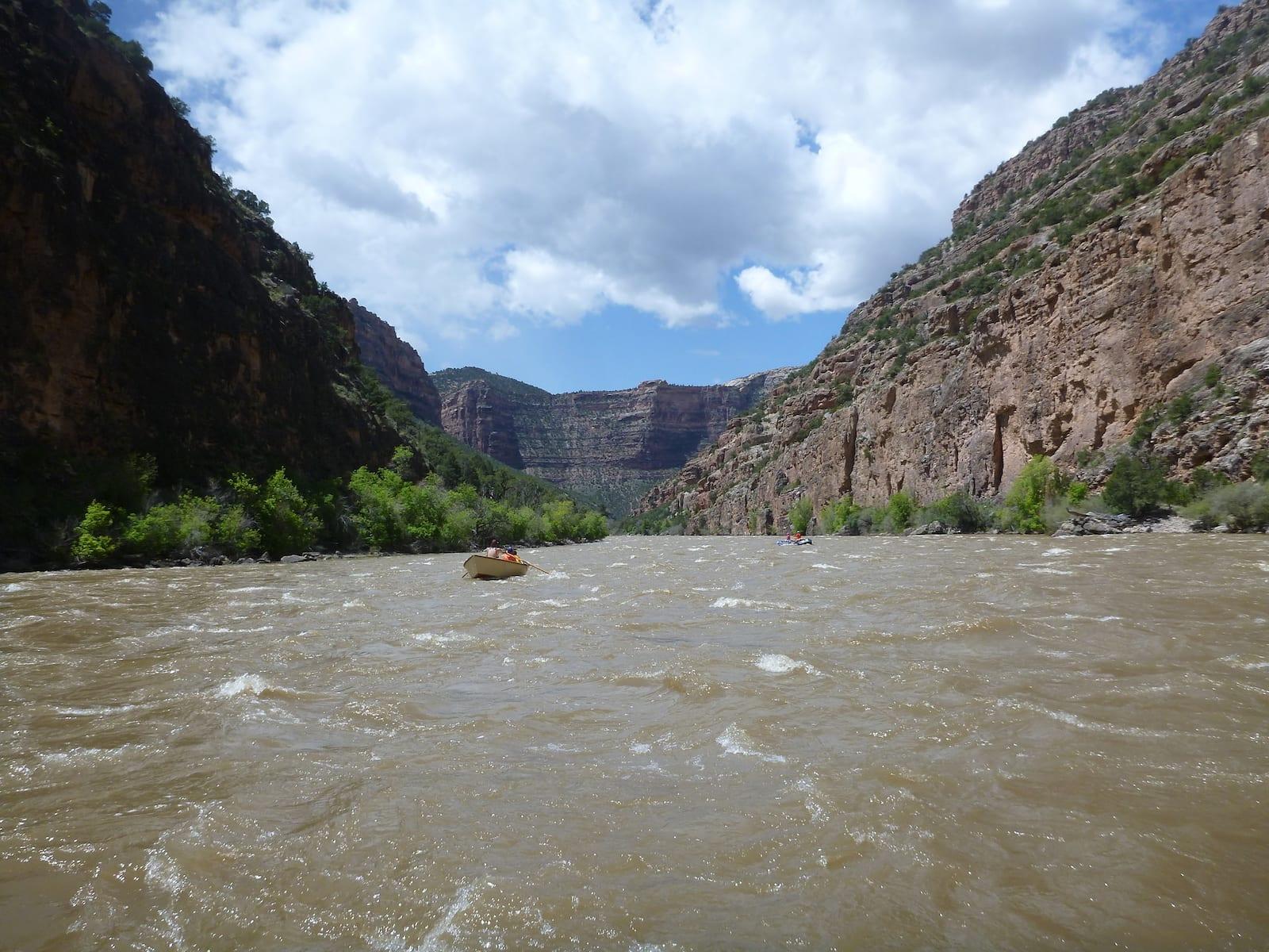 Yampa River Yampa Canyon Boating Moffat County Colorado