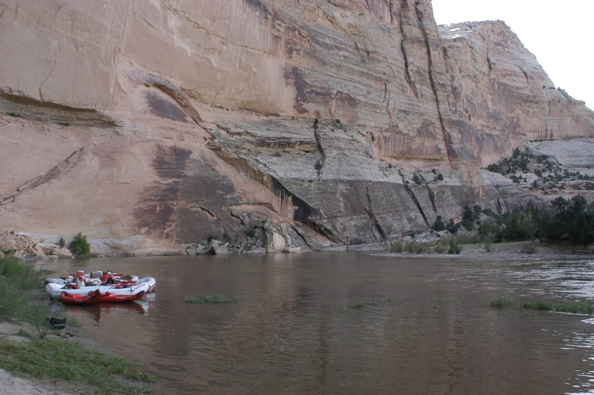 Yampa River Rafting Mather's Hole Colorado