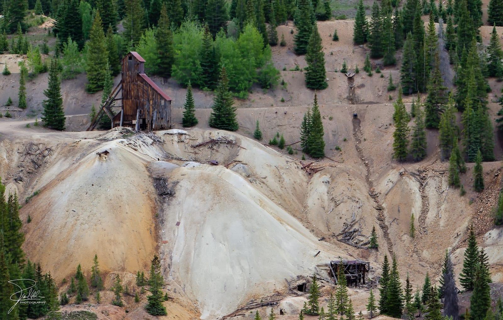 Yankee Girl Silver Mine Guston Colorado