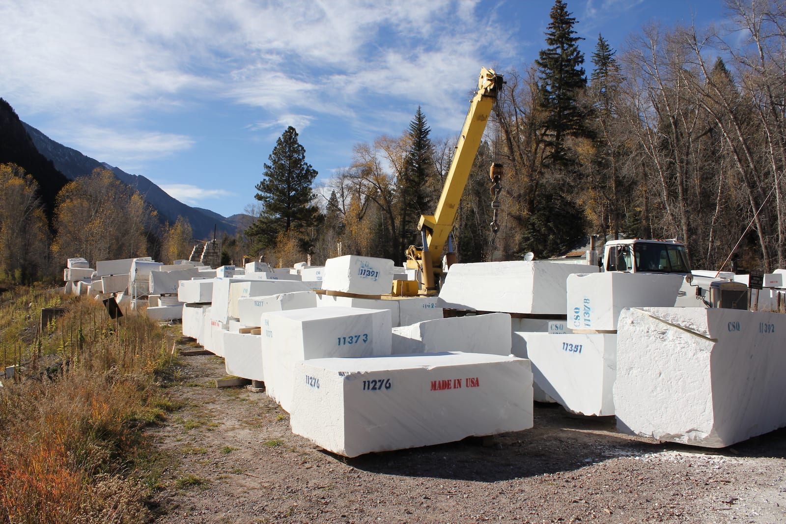 Yule Marble Quarry Marble Blocks Colorado