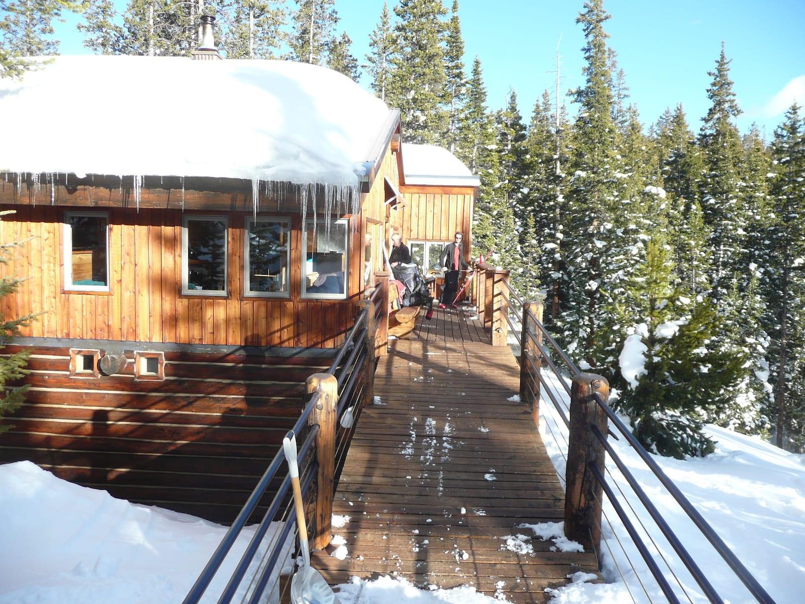 10th Mountain Backcountry Hut Colorado
