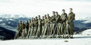 10th Mountain Division Ski Troopers Training in Colorado Circa 1943