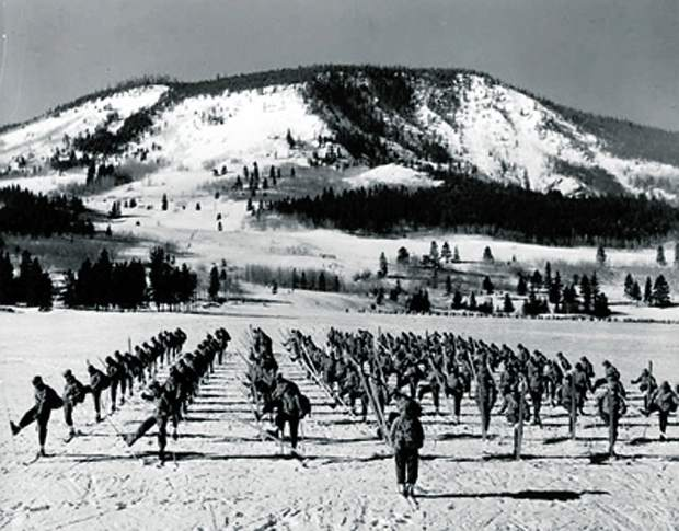 10th Mountain Division Training at Camp Hale Colorado