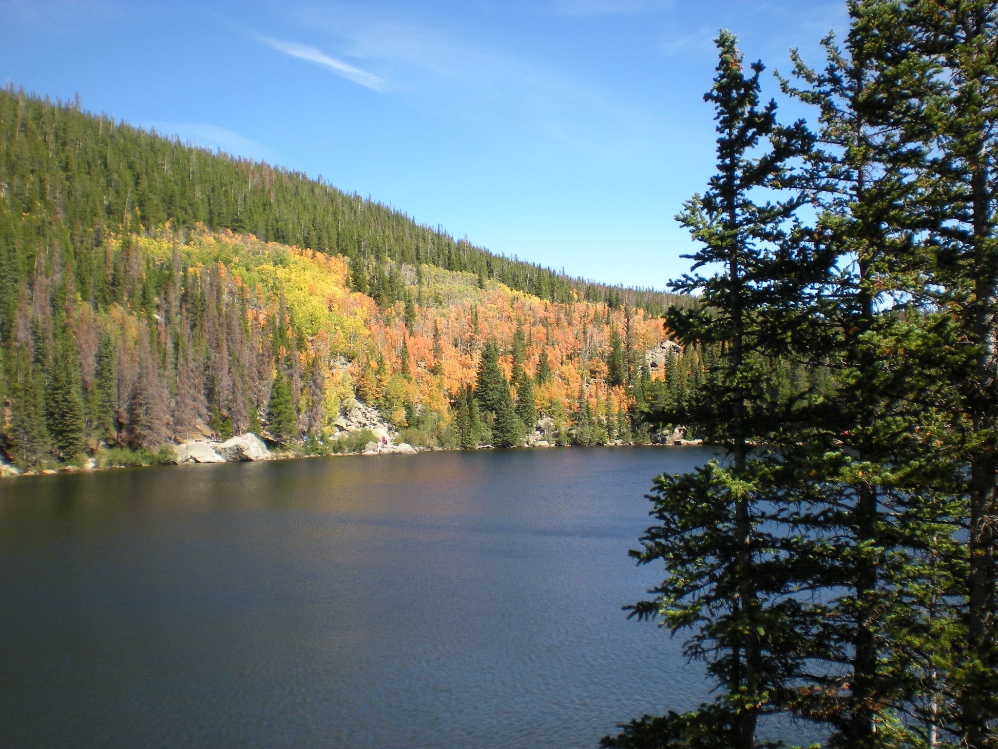 bear lake loop rocky mountain national park