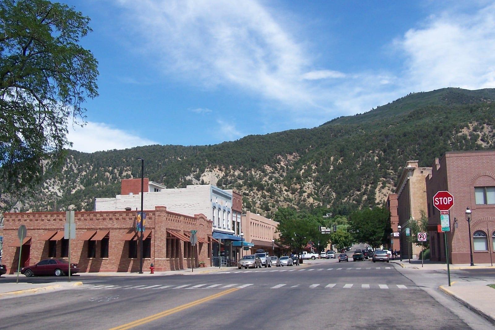 Beautiful Downtown Glenwood Springs, Colorado