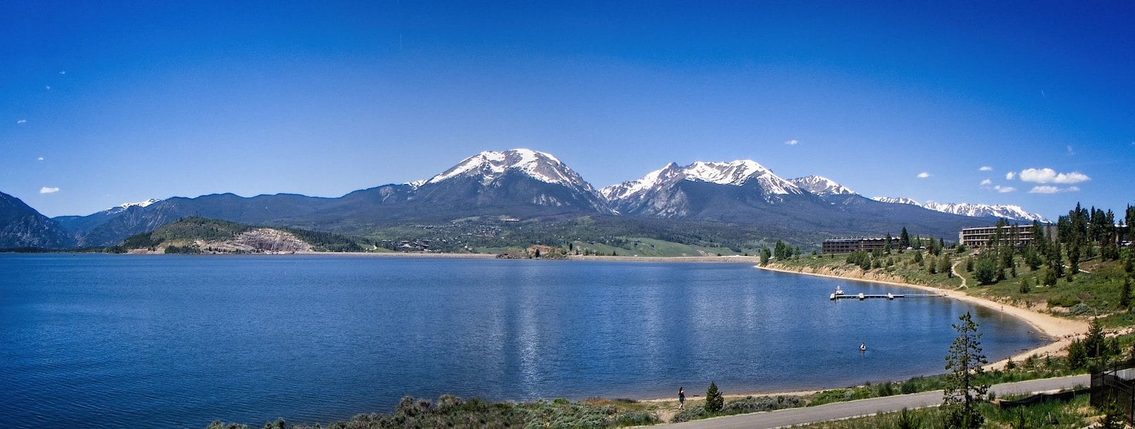 Dillon Reservoir in Dillon, Colorado