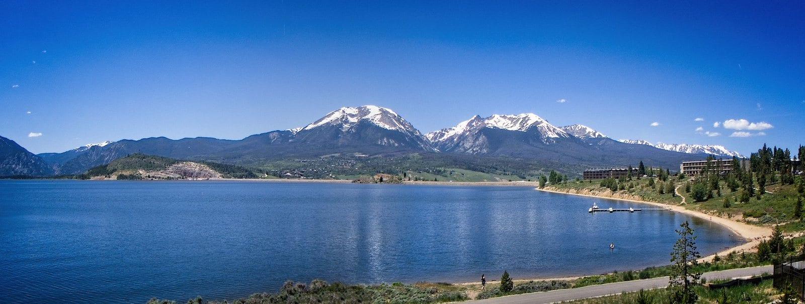 Dillon Reservoir in Dillon, Colorado