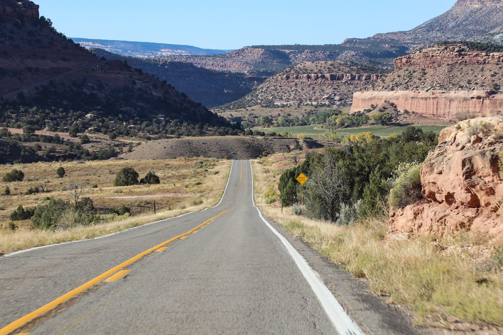 Dolores River Canyon near Gateway, Colorado