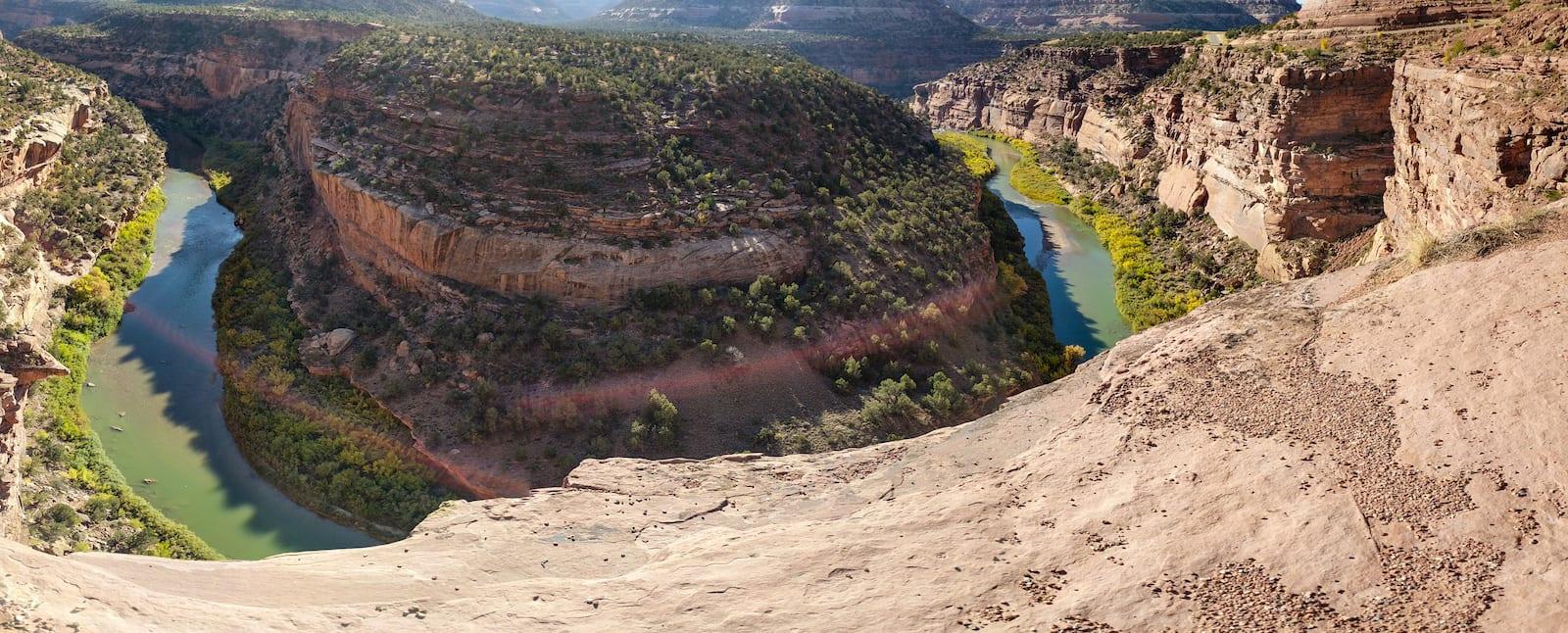Dolores River Canyon near Uravan, Colorado