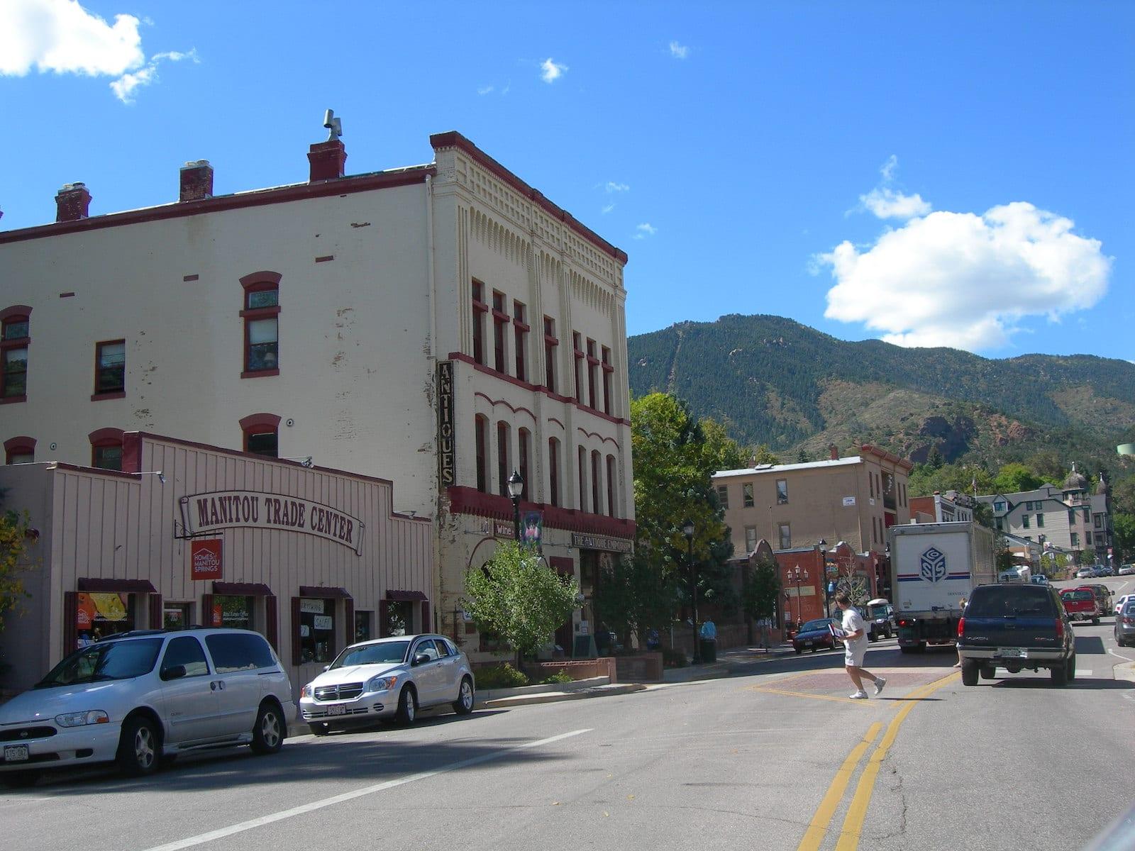 Downtown Manitou Springs, CO